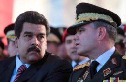 Nicolas Maduro y Padrino López