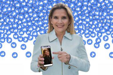 Jeanine áñez campañas de facebook