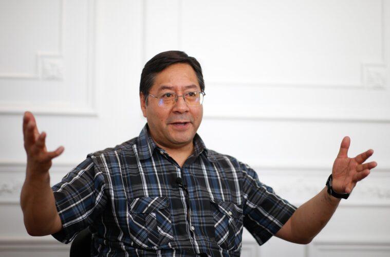 Luis arce candidato movimiento al socialiso