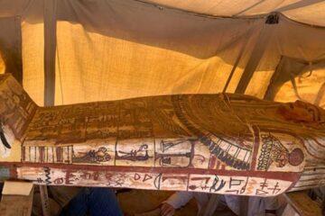 Descubren en egipto sarcófago